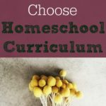 Homeschool Planning – How do you Choose Curriculum