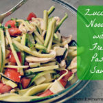 Zucchini Noodles with Fresh Pasta Sauce