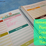 Homeschool Planning – Creating Monthly Themes