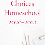 English and Language Arts – Homeschool Planning