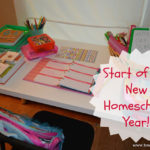 First Week of Homeschool and a Vlog!
