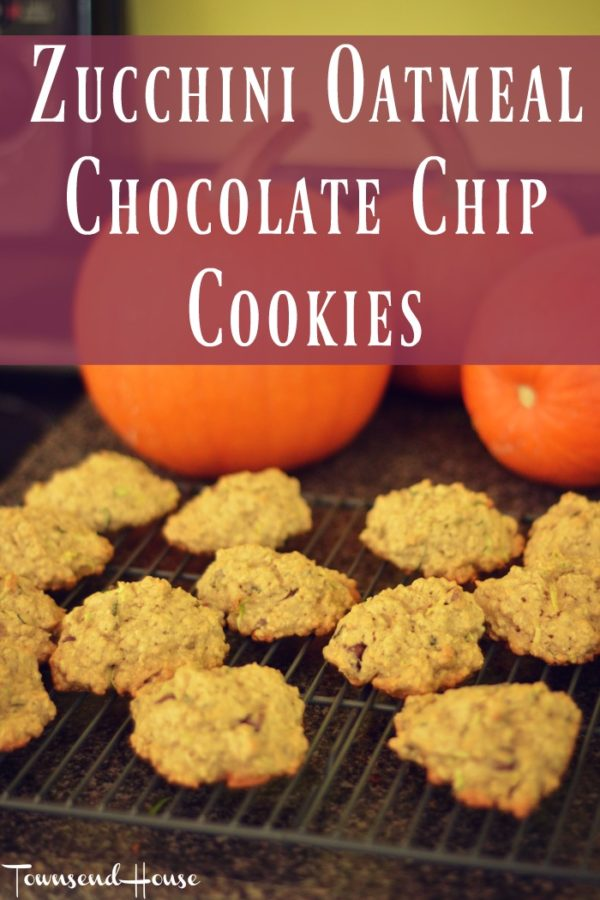 Zucchini Oatmeal Chocolate Chip Cookies Recipe