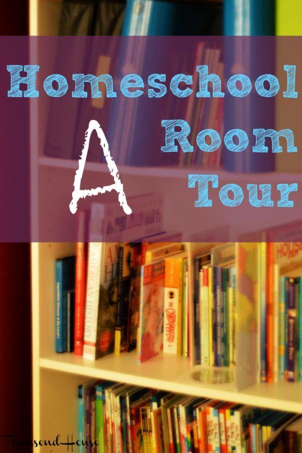A Homeschool Room Tour