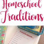 Homeschool Traditions for a Great 1st Day!