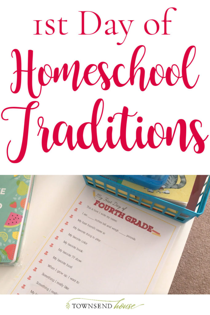 Homeschool Traditions