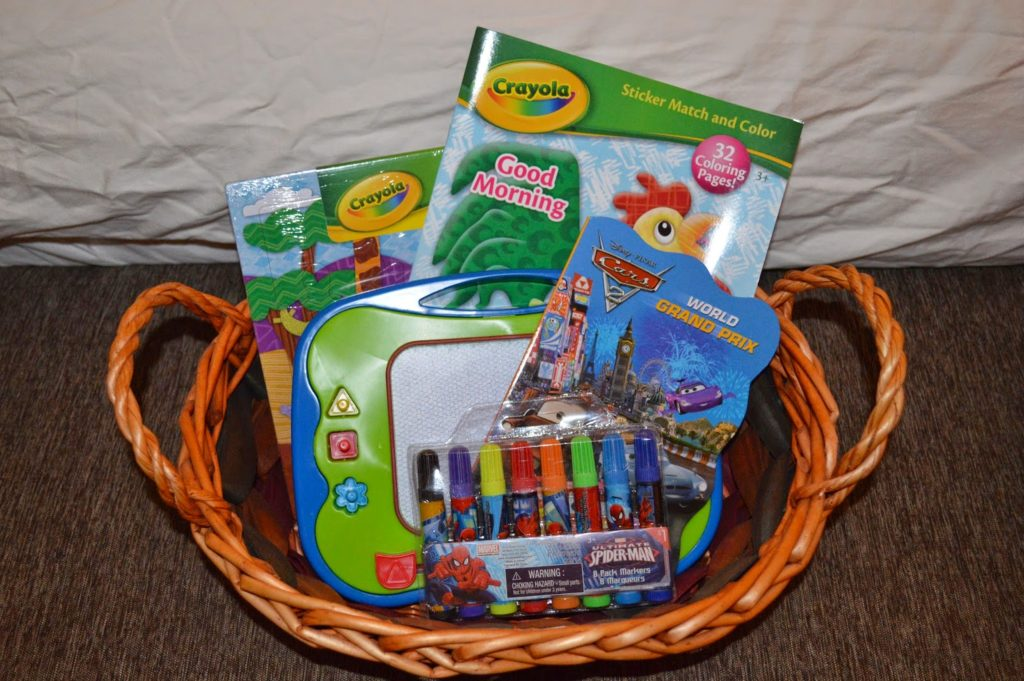 kids morning time baskets