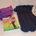 knitting and reading