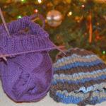 knitting and no reading