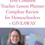 2020-2021 Erin Condren Teacher Lesson Planner