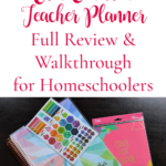 2019-2020 Erin Condren Teacher Planner