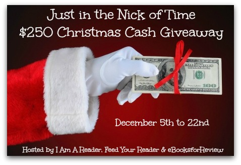 Just in the Nick of Time Giveaway! $250 PayPal Cash!