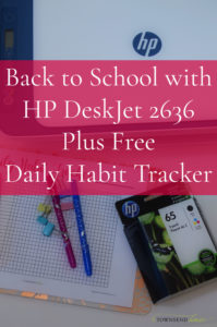 Back to School with HP DeskJet 2636