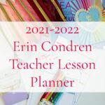 2021-2022 Erin Condren Teacher Lesson Planner