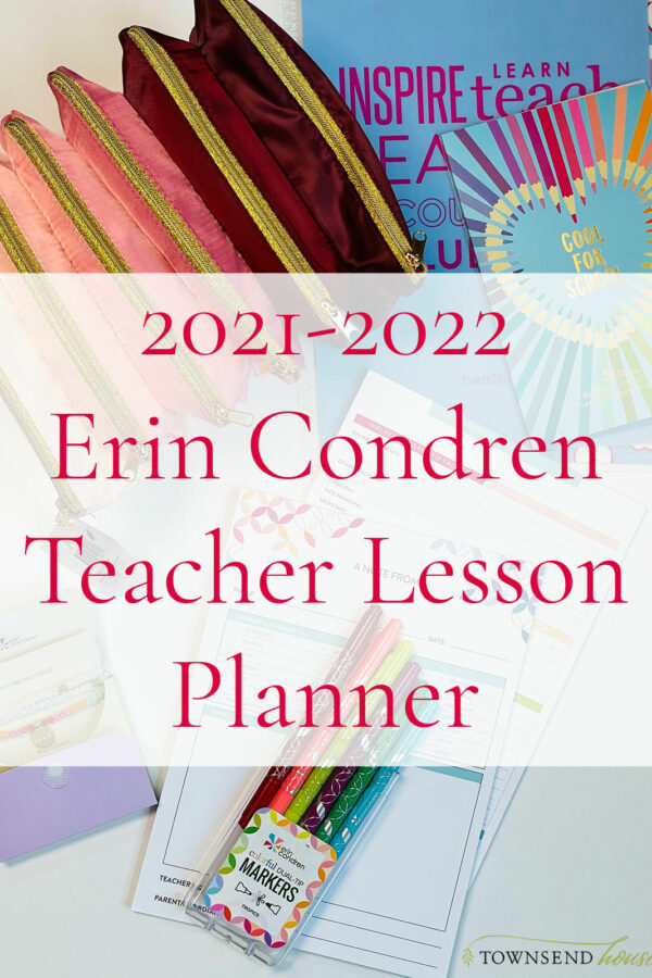 2021-2022 Erin Condren Teacher Lesson Planner
