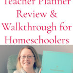 2020-2021 Simplified Teacher Planner Review