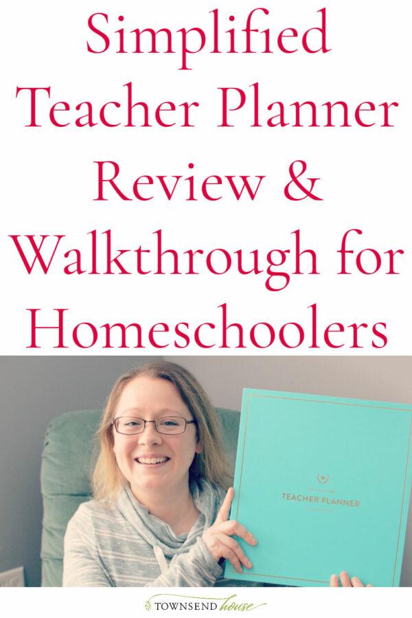 Simplified Teacher Planner