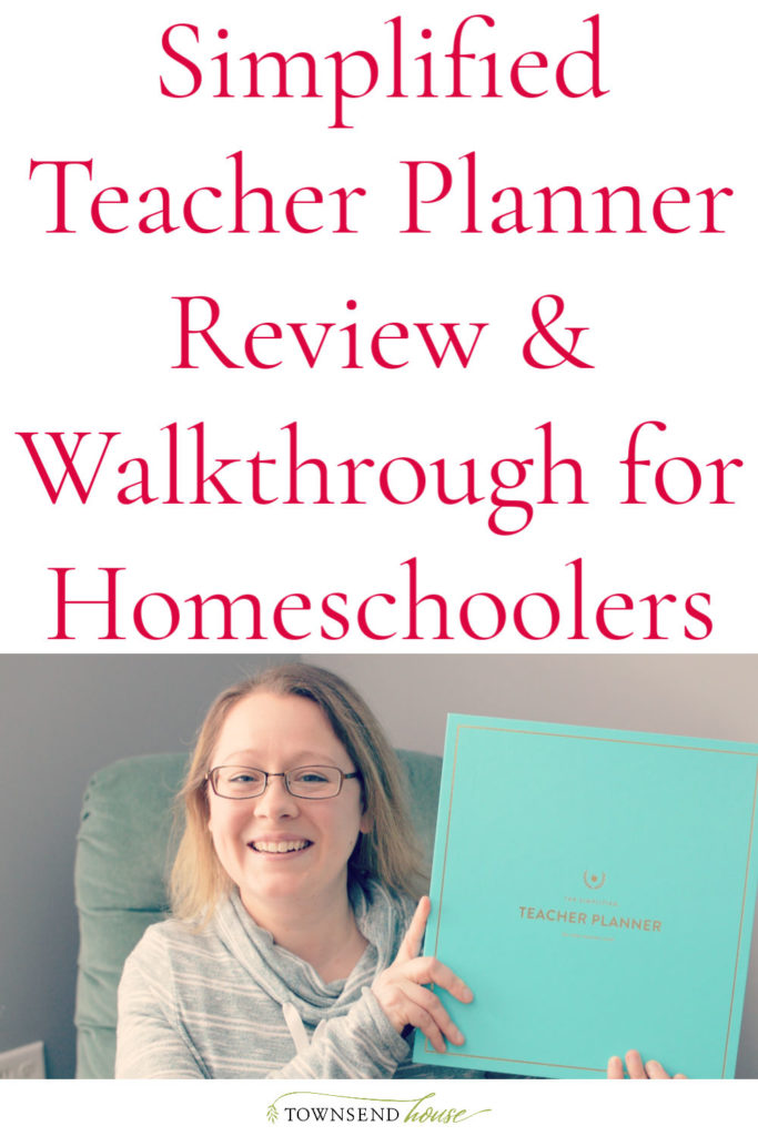 A review of the 2020-2021 Simplified Teacher Planner. See a complete walkthrough of the planner as well as how it can be used as a Homeschool Planner.