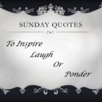 Sunday Quotes