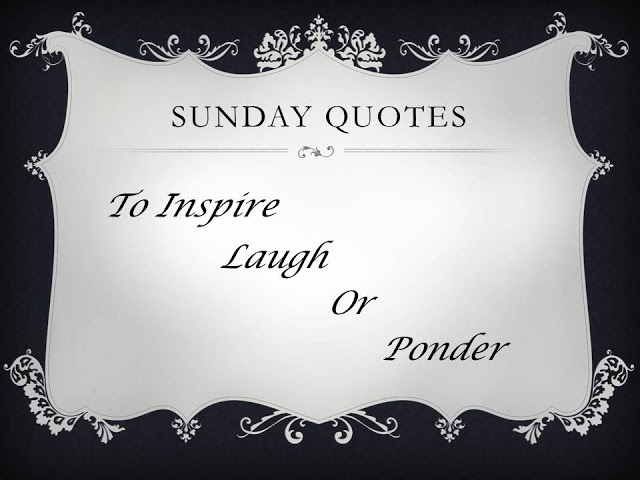 Sunday Quotes - Townsend House