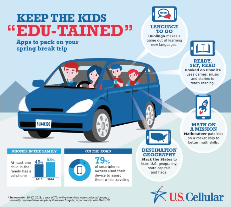 4 Top Educational Apps for your Next Road Trip