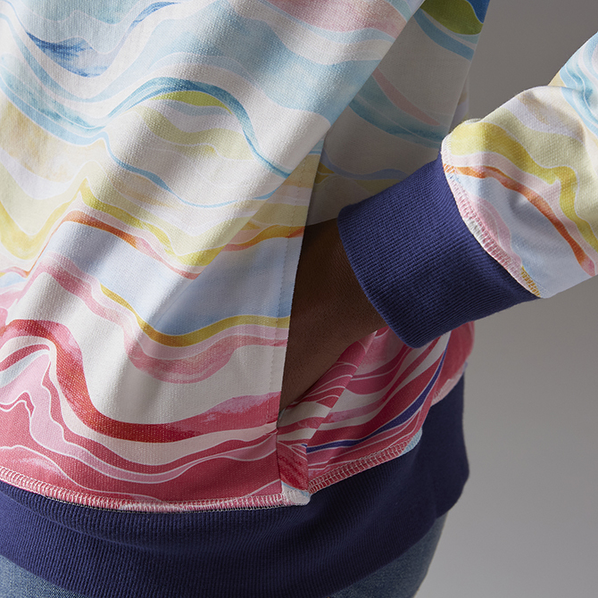 Erin Condren Colorful Layers Hoodie