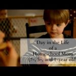 Homeschool Day in the Life {8, 6, 2 year old}