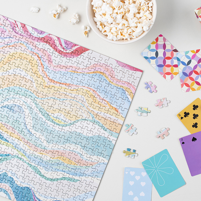Erin Condren Colorful Layers Puzzle