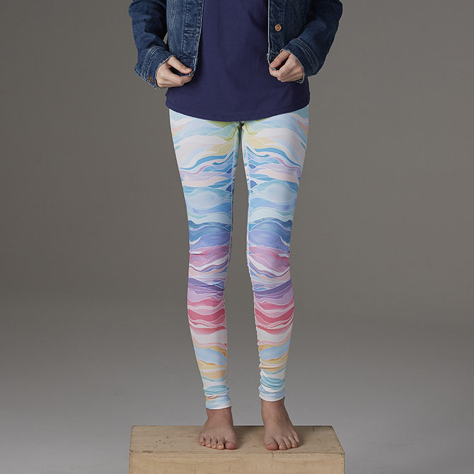 Erin Condren Colorful Layers Leggings