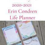 2020-2021 Erin Condren Life Planner